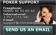 contact our Poker support